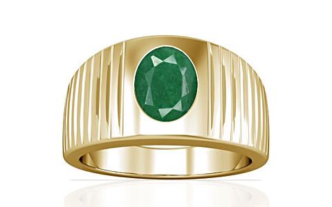 Green Beryl Gold Ring (A5)
