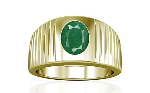 Green Beryl Panchdhatu Ring (A5)