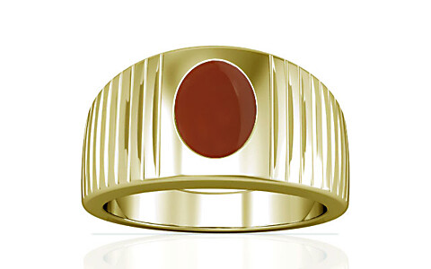 Carnelian Panchdhatu Ring (A5)