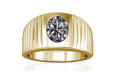 Cubic Zirconia Gold Ring (A5)