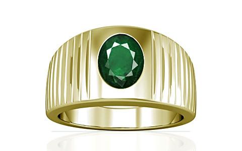 Emerald (Zambia) Panchdhatu Ring (A5)