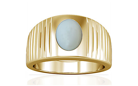 Moonstone Gold Ring (A5)