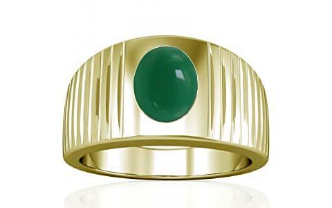 Green Onyx Panchdhatu Ring (A5)