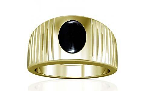 Black Onyx Panchdhatu Ring (A5)
