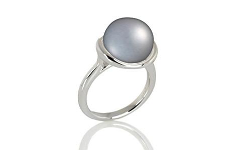 Pearl (Tahiti) Silver Ring (AP5)