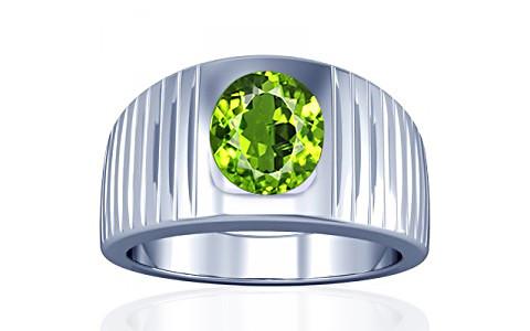 Peridot Silver Ring (A5)