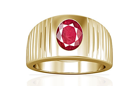 Ruby (Old Burma) Gold Ring (A5)
