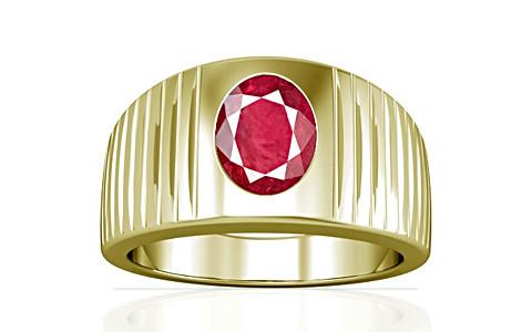 Ruby (Old Burma) Panchdhatu Ring (A5)