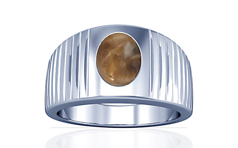 Sunstone Silver Ring (A5)