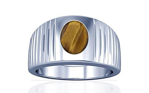 Tiger Eye Silver Ring (A5)