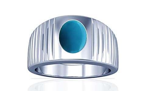 Turquoise Silver Ring (A5)