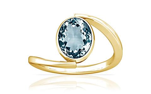 Aquamarine Gold Ring (A6)