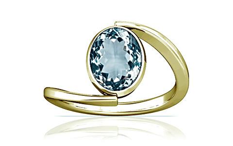 Aquamarine Panchdhatu Ring (A6)