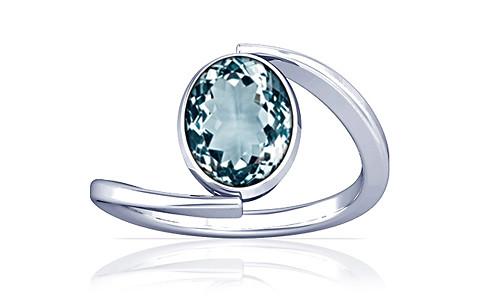 Aquamarine Silver Ring (A6)