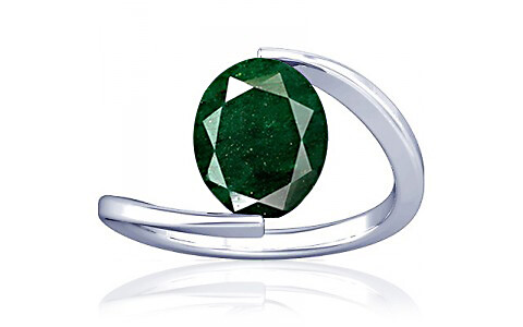 Aventurine Silver Ring (A6)