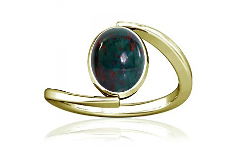 Bloodstone Panchdhatu Ring (A6)