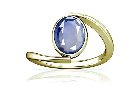 Blue Sapphire Panchdhatu Ring (A6)