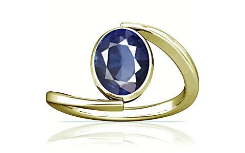Blue Sapphire (Thailand) Panchdhatu Ring (A6)
