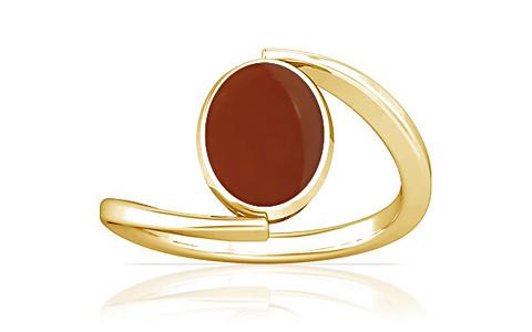 Carnelian Gold Ring (A6)