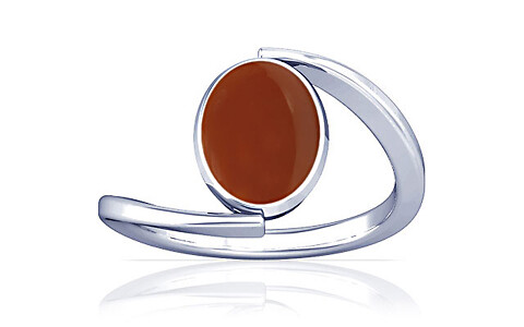 Carnelian Sterling Silver Ring (A6)