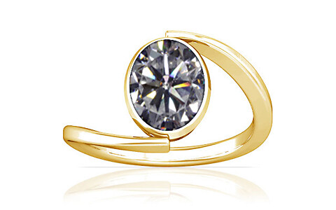 Cubic Zirconia Gold Ring (A6)
