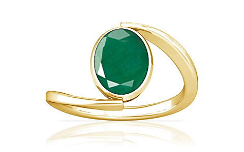 Emerald Gold Ring (A6)
