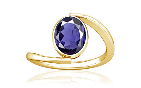 Iolite Gold Ring (A6)