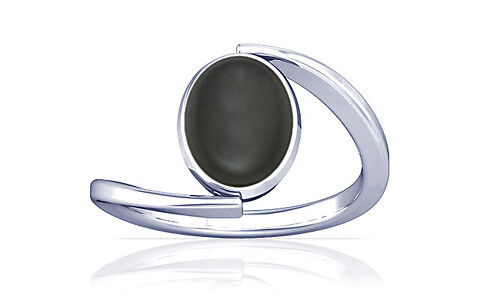 Gray Moonstone Silver Ring (A6)