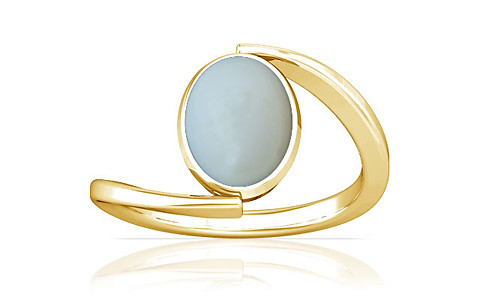 Moonstone Gold Ring (A6)