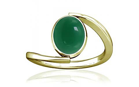 Green Onyx Panchdhatu Ring (A6)