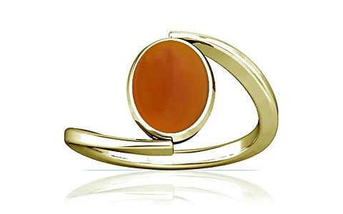 Orange Onyx Panchdhatu Ring (A6)