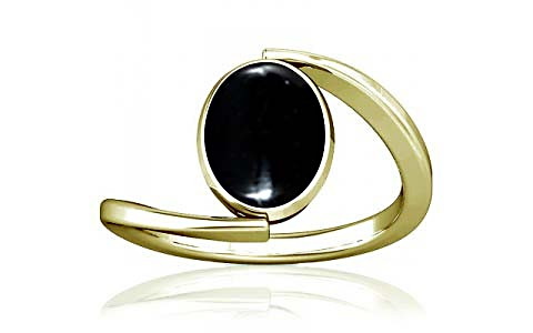 Black Onyx Panchdhatu Ring (A6)