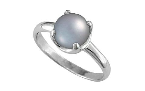 Pearl (Tahiti) Silver Ring (AP6)