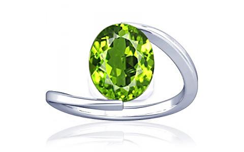 Peridot Silver Ring (A6)