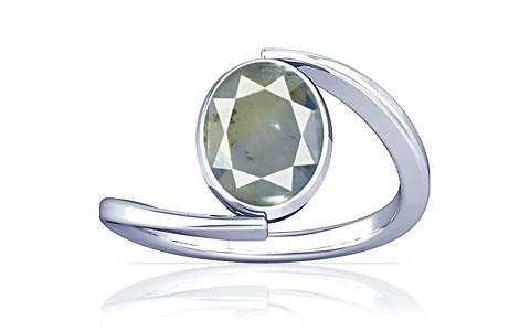 Pitambari Neelam Sterling Silver Ring (A6)
