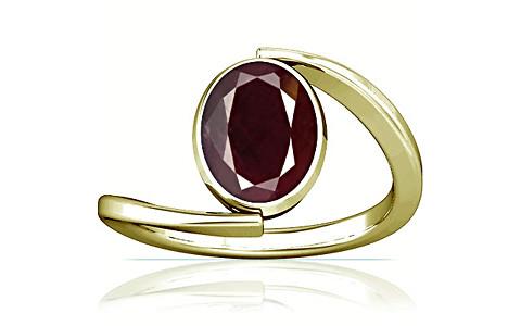 Indian Ruby Panchdhatu Ring (A6)