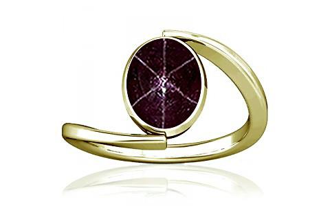 Star Ruby Panchdhatu Ring (A6)