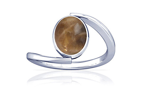Sunstone Silver Ring (A6)