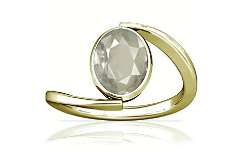 White Sapphire Panchdhatu Ring (A6)