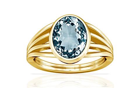 Aquamarine Gold Ring (A7)