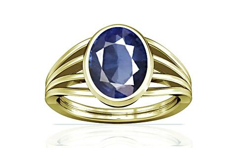 Blue Sapphire (Thailand) Panchdhatu Ring (A7)