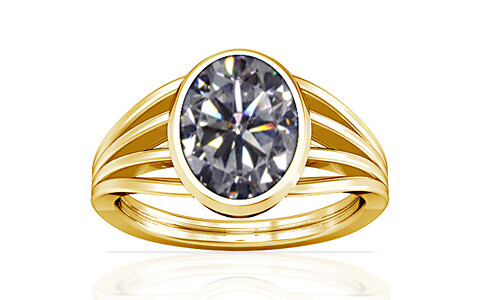 Cubic Zirconia Gold Ring (A7)