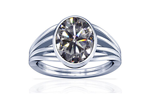 Cubic Zirconia Silver Ring (A7)
