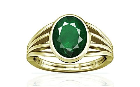Emerald (Zambia) Panchdhatu Ring (A7)