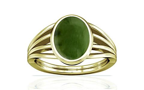 Nephrite Jade Panchdhatu Ring (A7)