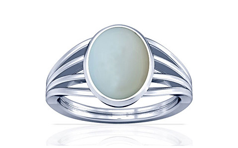 Moonstone Silver Ring (A7)