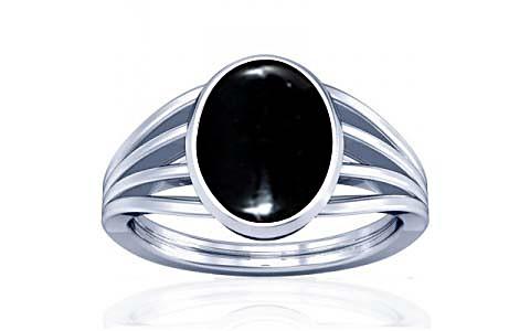 Black Onyx Silver Ring (A7)