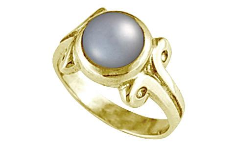 Pearl (Tahiti) Gold Ring (AP7)