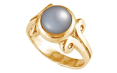 Pearl (Tahiti) Panchdhatu Ring (AP7)