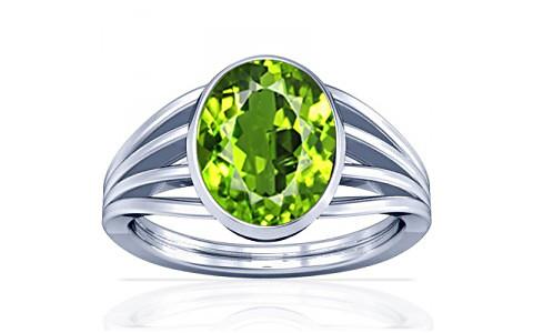 Peridot Silver Ring (A7)